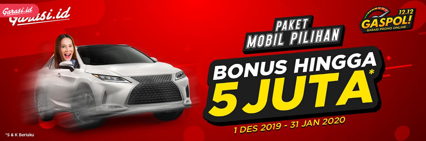 Beli mobil bonus 5 juta