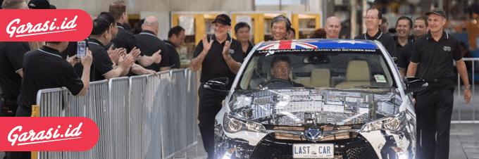 Akhir Perjalanan Panjang Toyota Di Australia