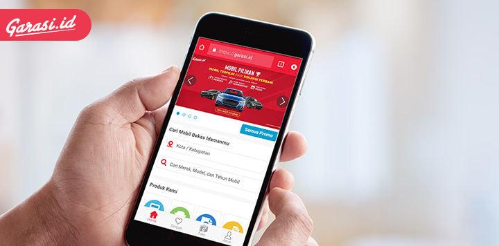 Di Garasi.id Booking Fee Mobil Bisa Refund