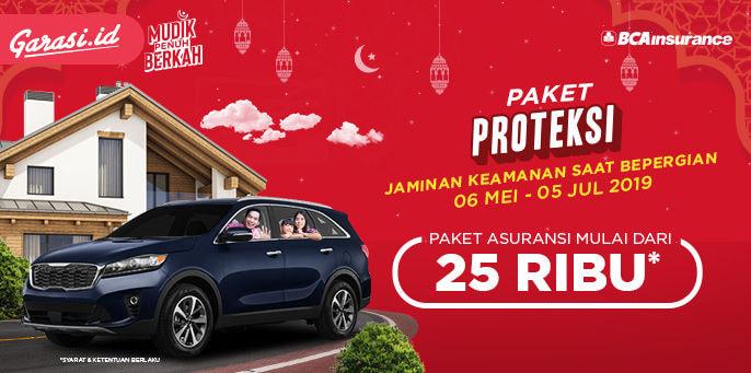 Lindungi Perjalanan Mudikmu dengan Paket Proteksi di Garasi.id