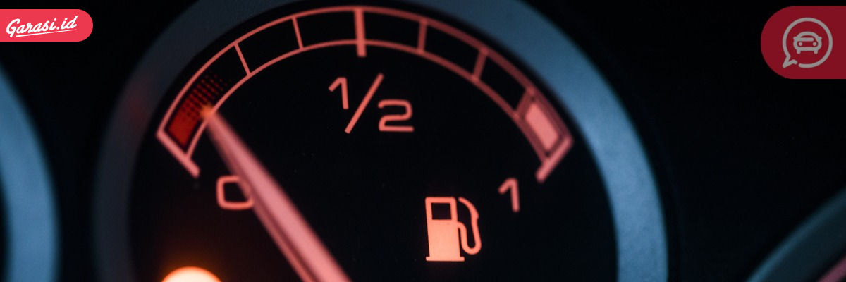 Indikator bensin mobil rusak