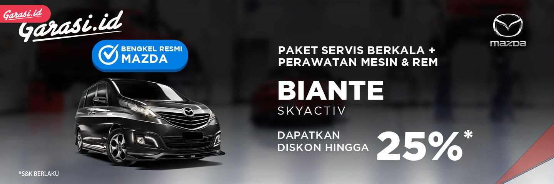 Servis Mazda Biante