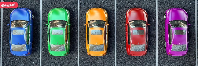 Pilihan warna mobil