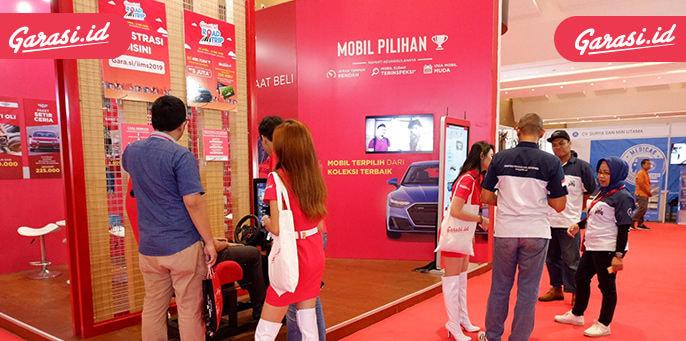 IIMS 2019 Sudah Dibuka, Mampir Ke Booth Garasi.id Berpeluang Bawa Pulang 5 Juta