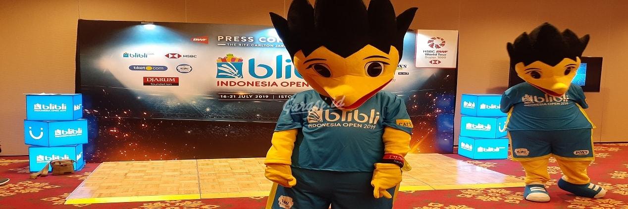 Blibli.com kembali menjadi sponsor utama ajang bergengsi turnamen bulutangkis Indonesia Open 2019