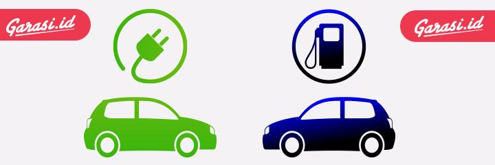 Mobil Listrik dan Mobil Bensin
