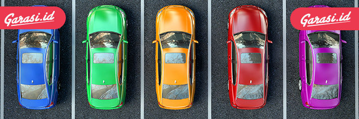 Warna Cat Mobil
