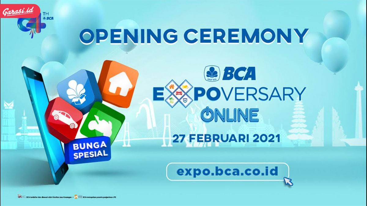 Rayakan Hari Jadi, BCA Persembahkan BCA Expoversary Online 2021