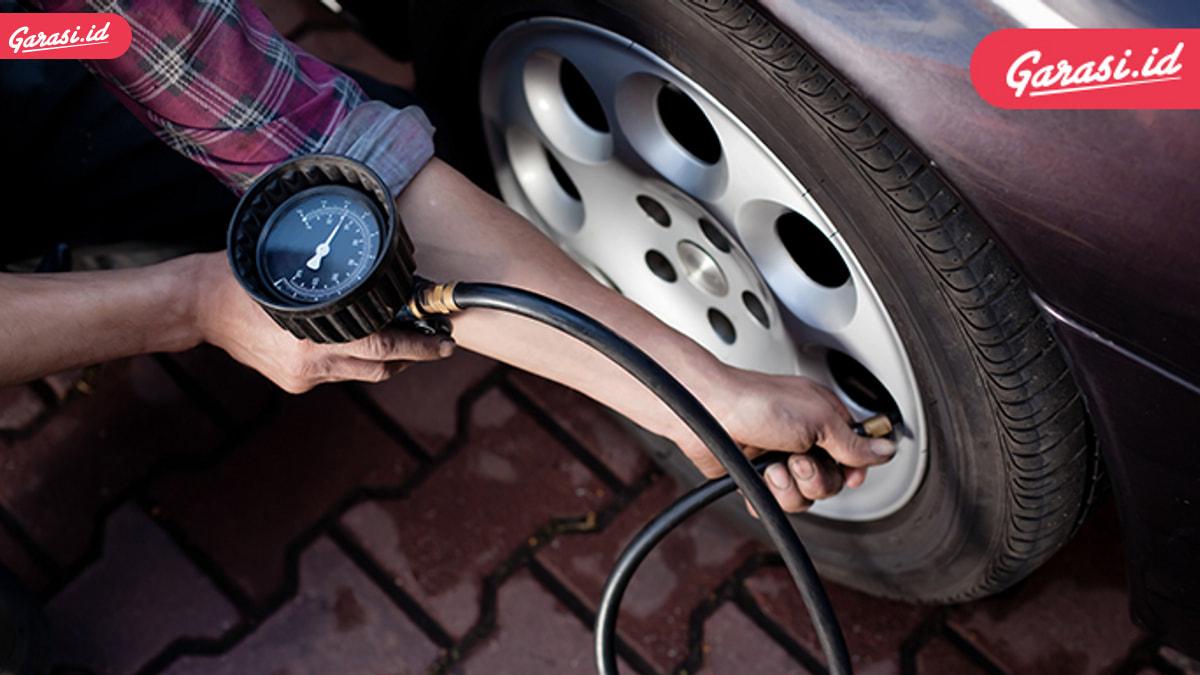 Waspada! Tekanan Angin Ban Mobil Berlebih Membahayakan