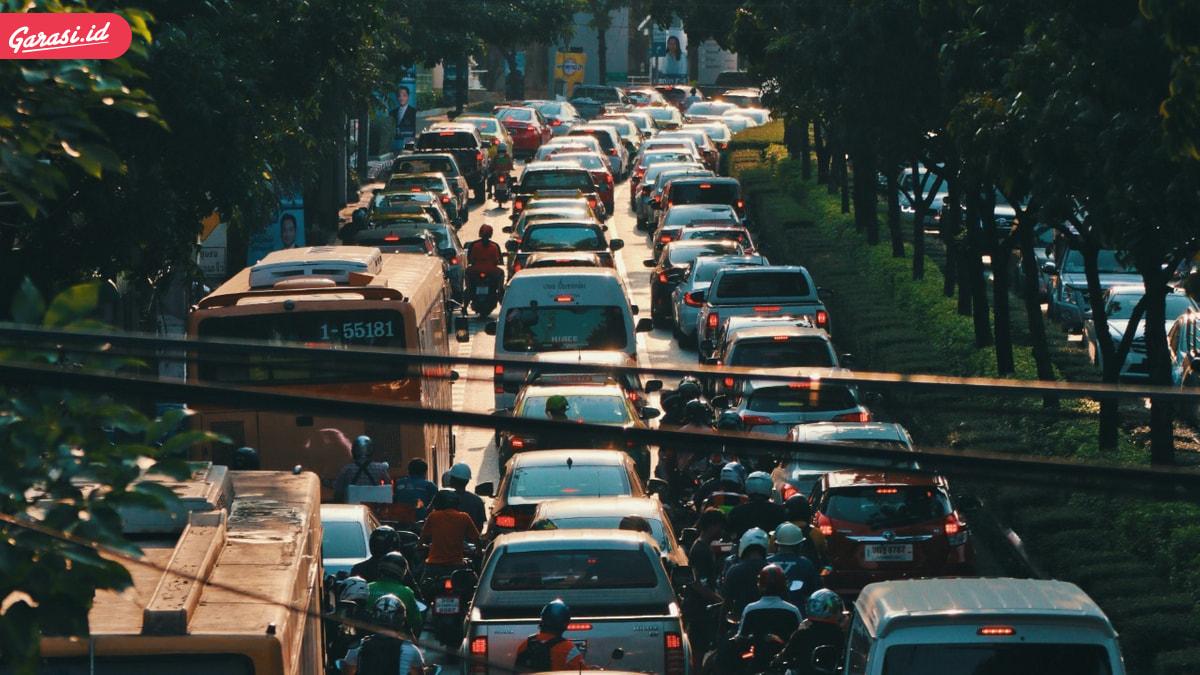 Kemacetan Saat Tidak Ada Ganjil Genap