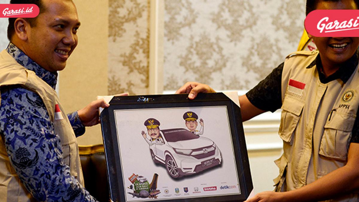 Jelajah Nusantara Bersama All New Honda CR-V Turbo Telah Sukses Menempuh 3.623 Km