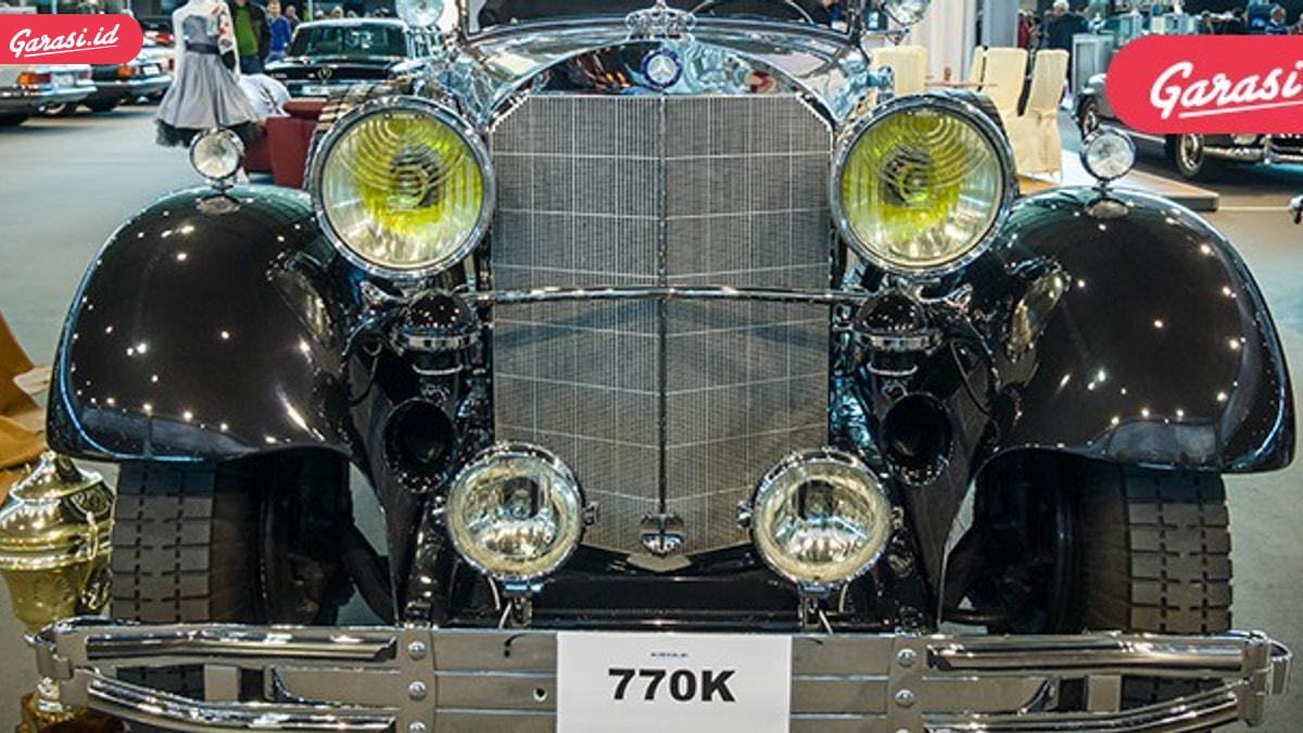 Super Mercedes Milik Hitler Siap Dilelang
