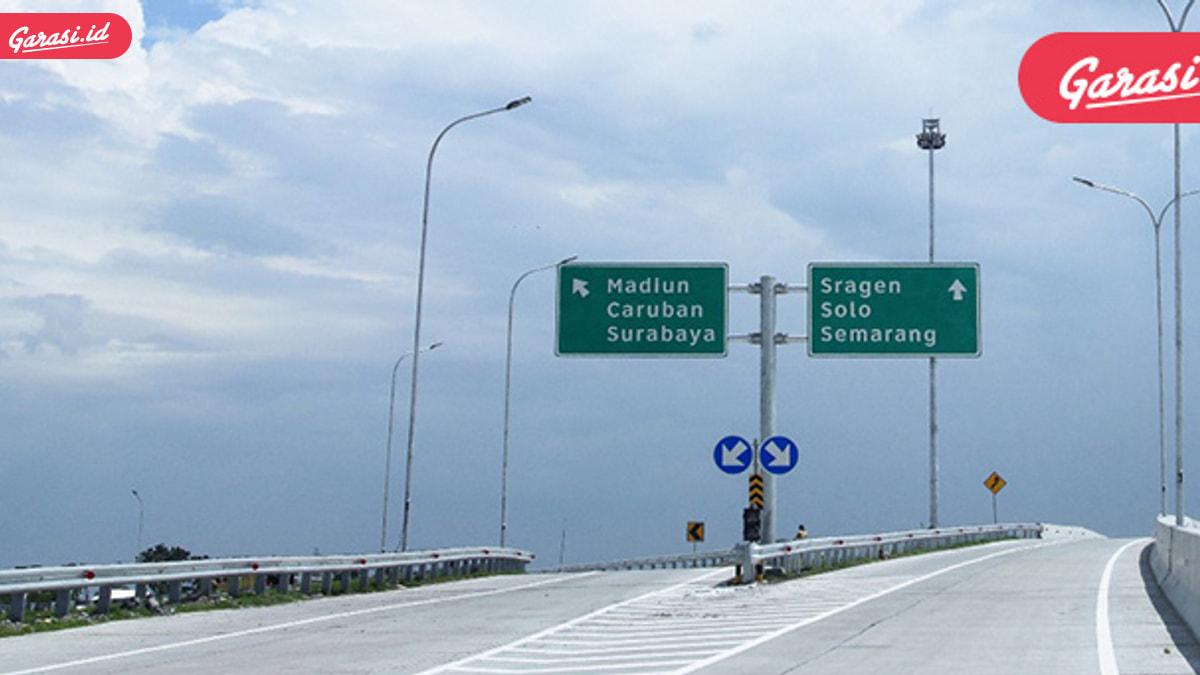 Jalan Tol Solo Ngawi Segmen Sragen-Ngawi Siap Beroperasi