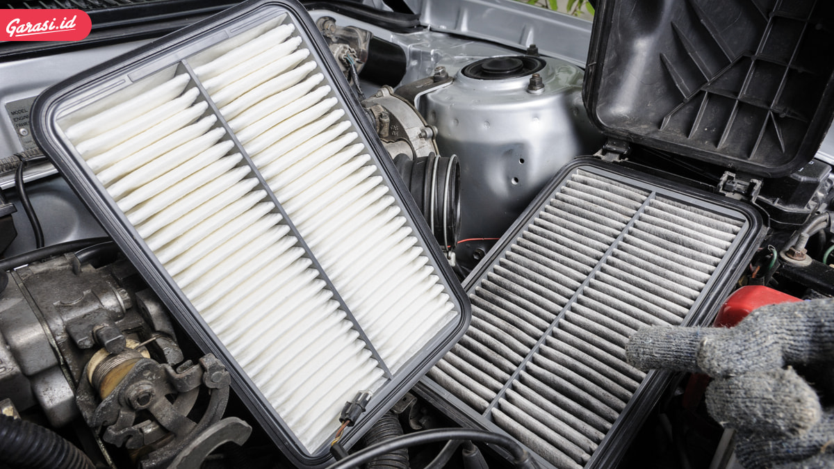 Bersihkan Filter Udara Dengan Tekanan Angin, Ini Jarak Idealnya
