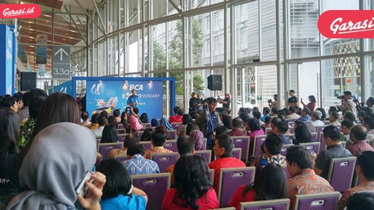 Hari ini, BCA Expo 2018 Resmi Dibuka
