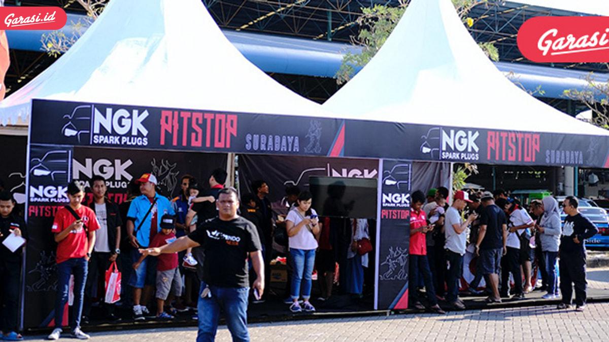 Mengintip Keseruan NGK Pitstop Surabaya