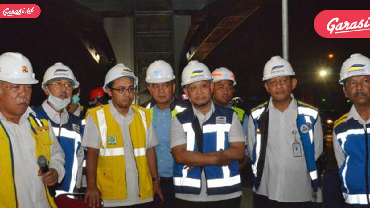 Jasa Marga Utamakan K3 pada Pekerjaan Teknis Jalan Tol Jakarta-Cikampek II (Elevated)