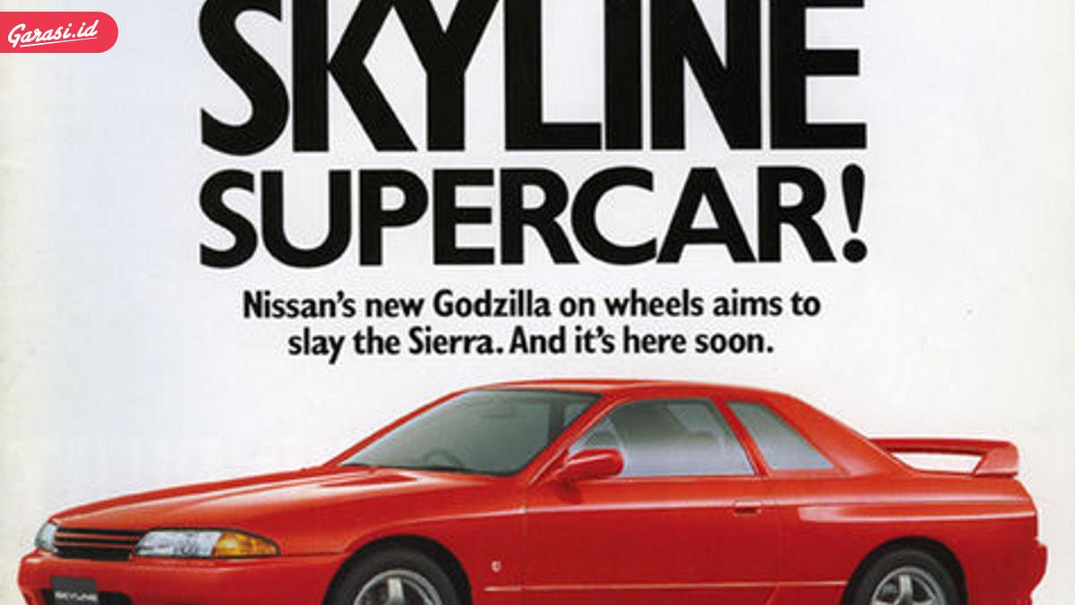 Nissan GTR, Si Raja Monster 'Godzilla'