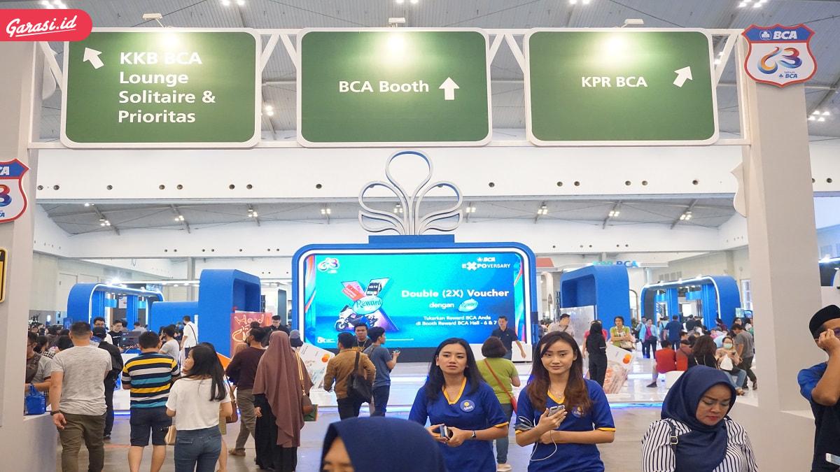 Garasi.id Kasih Banyak Promo di BCA Expoversary 2020