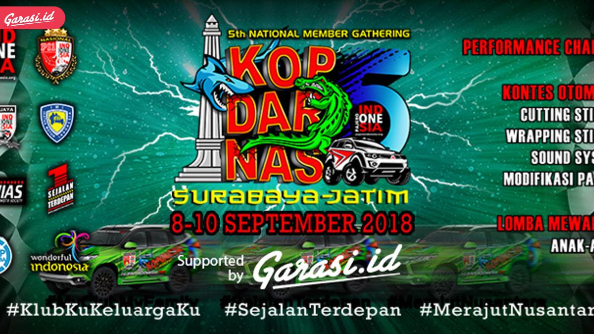 Pajero Indonesia One Akan Kopdarnas ke 5 di Kota Pahlawan