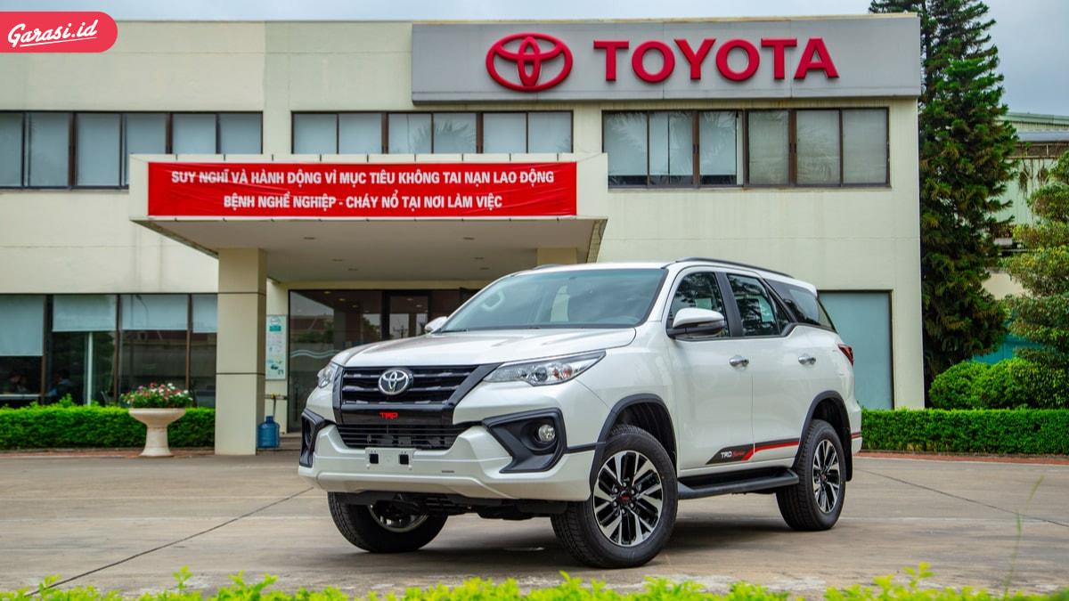 SPK Toyota Fortuner Melejit Krena PPNbM. Konsumen Harus Bersabar Menunggu 5 Bulan