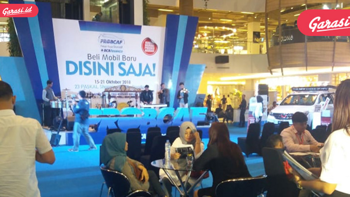 Usai Sambangi Mall Artha Gading, Kini PROBCAF Sapa Warga Bandung