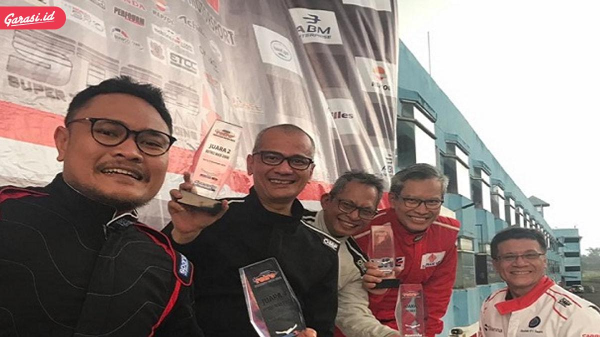 Habis Gelap Terbitlah Terang, Ibnu Ambara Raih Juara Umum Kelas Retro Max 2000 ISSOM 2019