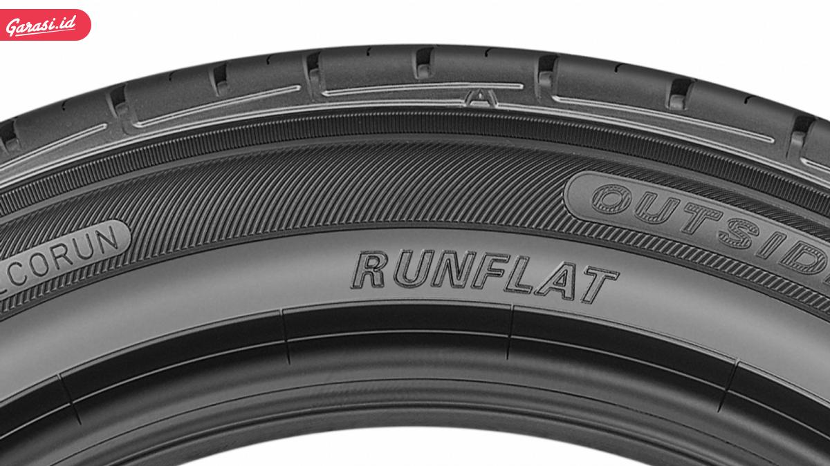 Mengenal Ban Anti Kempes, Run Flat Tyre