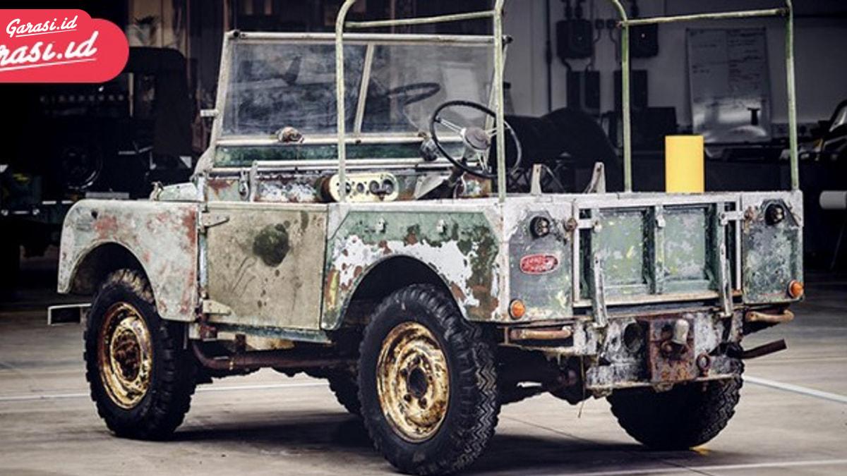 Land Rover Series 1 Versi Launching 1948 Mulai Direstorasi