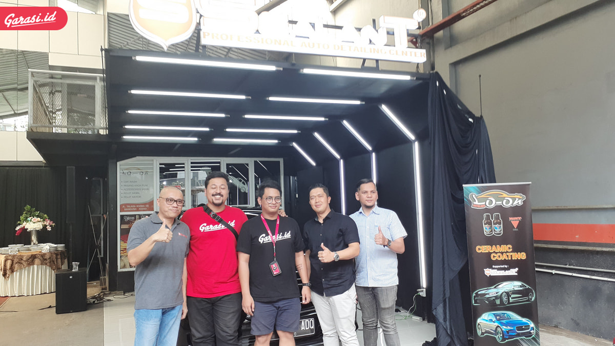 Sealant Indonesia Berkolaborasi Dengan Car Wash Look Autoland Meresmikan Outlet di Bandung