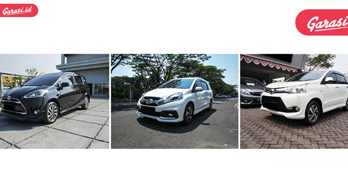 Cari Mobil Bekas MPV Tahun 2016, Kamu Bisa Pilih Ini