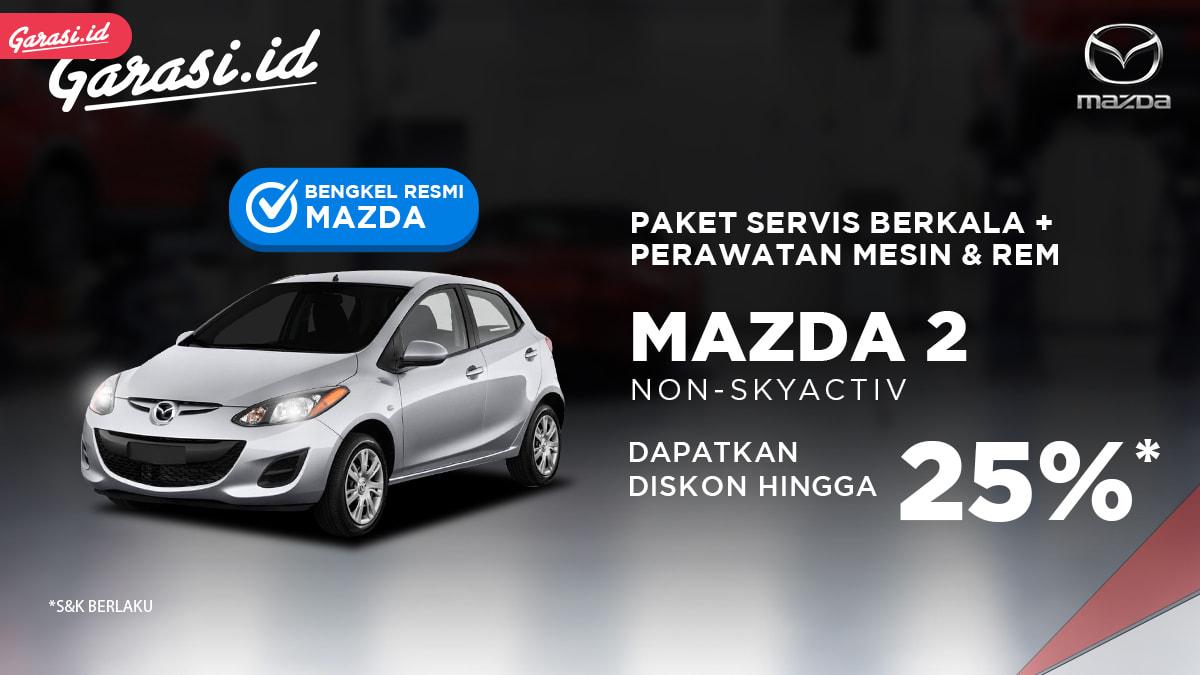 Biaya Servis Berkala Mazda 2 di Garasi.id Lebih Hemat