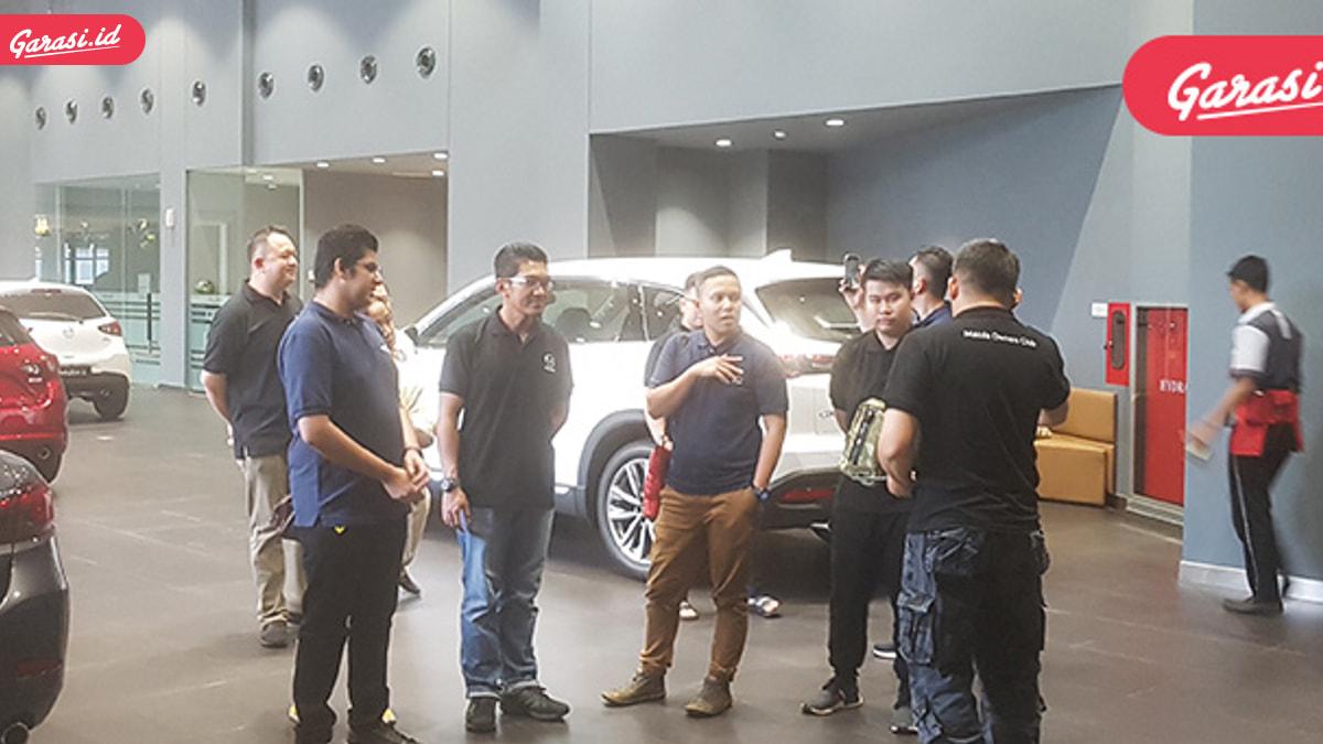 Garasi.id Buka Bersama Mazda di Showroom Baru