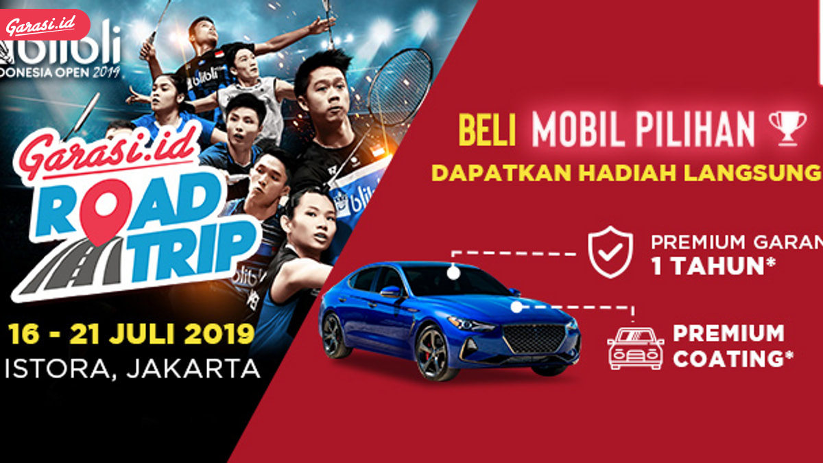 Nonton Indonesia Open 2019, Mampir Ke Booth Garasi.id Bisa Dapet Untung
