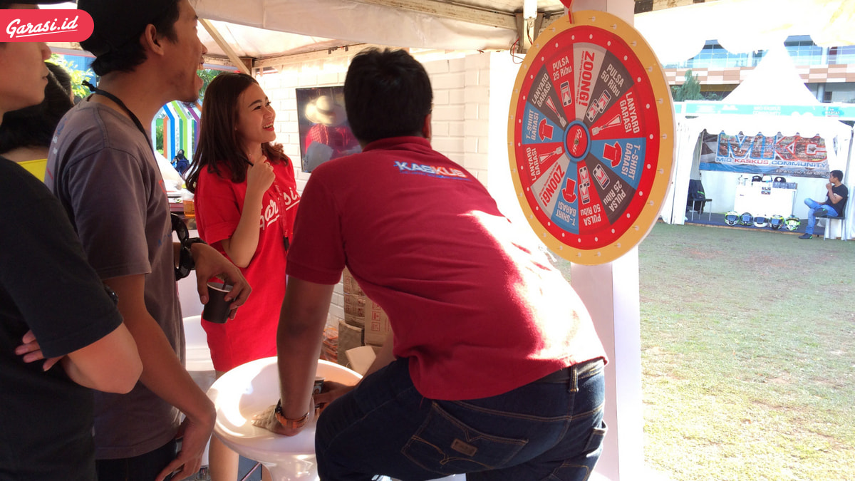 "Garasi.id Bikin ""Wheel Of Fortune"" Dan ""Hot Photo Challenge"" Di MARKAS"