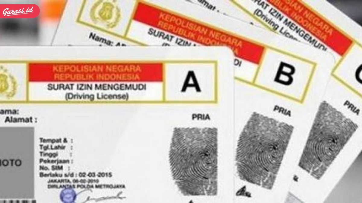 2018 Jangan Mau Ditipu Calo, Perpanjang SIM Lewat 6 Hari Harus Bikin Baru