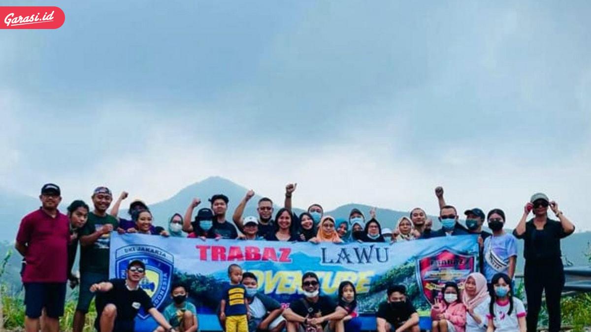 Komunitas TRABAZ Gelar Fun Offroad Bertajuk LAWU - KELUD ADVENTURE
