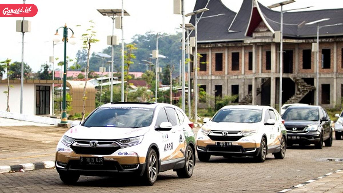 """""""Jelajah Nusantara bersama All New Honda CR-V Turbo"""" Mendarat di Kota Padang"""