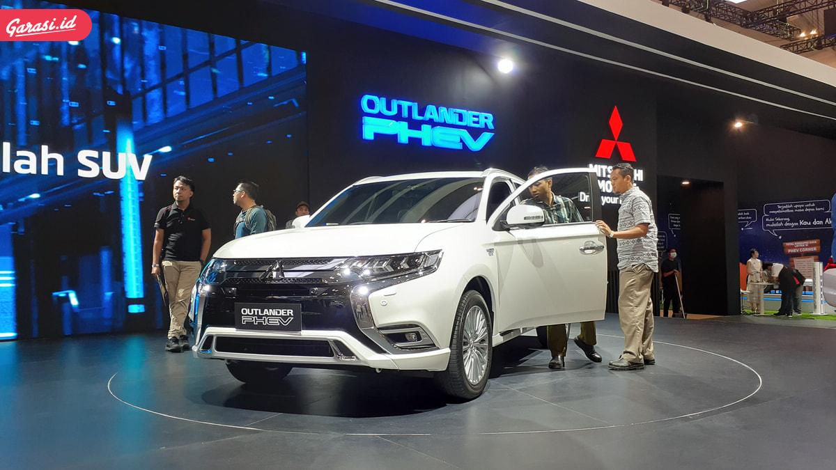 GIIAS 2019 : Mitsubishi Kembali Gemparkan Pecinta Otomotif Indonesia Lewat Outlander PHEV