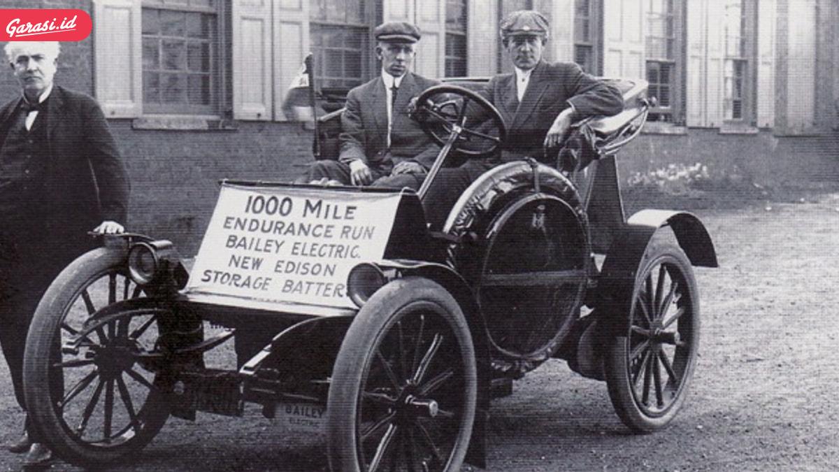 Sejarah Perkembangan Mobil Tenaga Listrik di Dunia