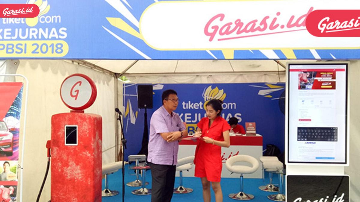 Garasi.id Kasih Hadiah Menarik di Kejurnas 2018