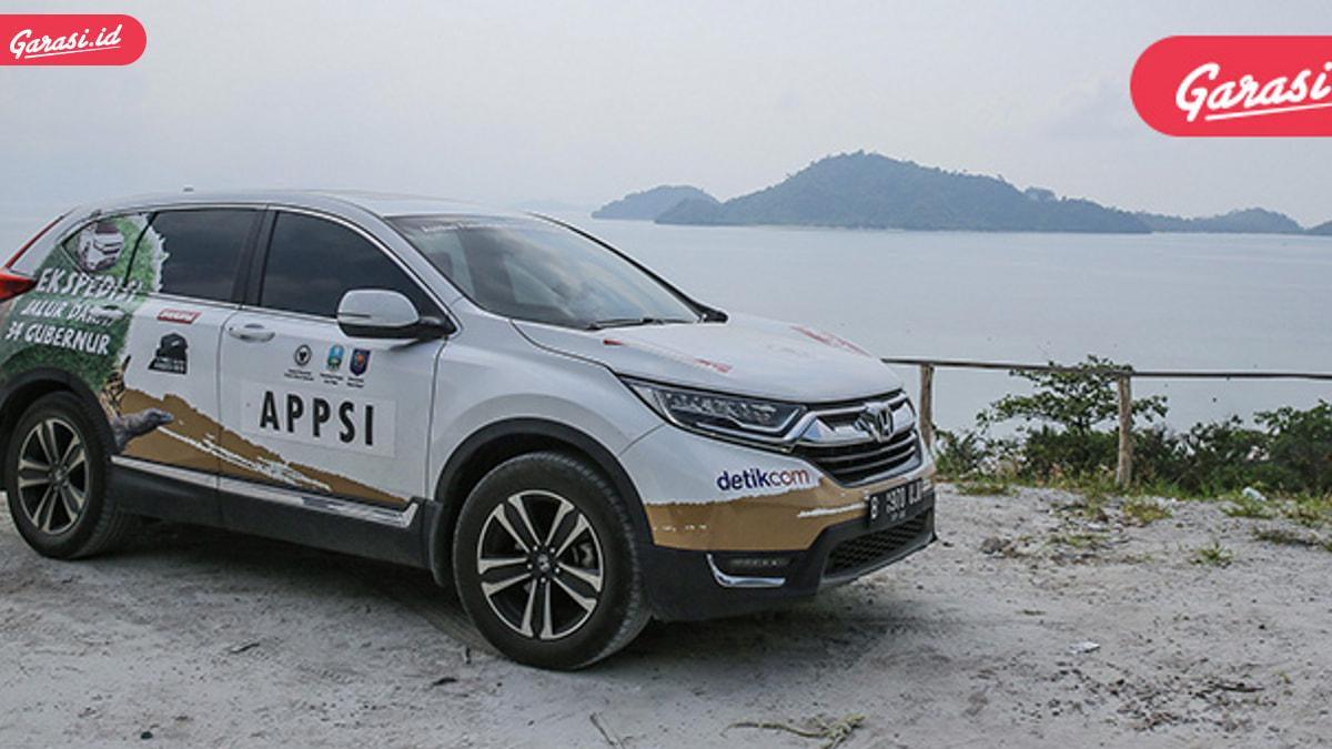 Rombongan Jelajah Nusantara Bersama All New Honda CR-V Turbo Siap Taklukan Pulau Kalimantan
