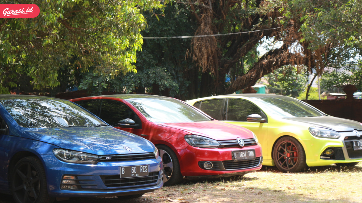 Hadiri Re-launching Dealer VW, Komunitas NUVOLKS Touring Ke Cirebon