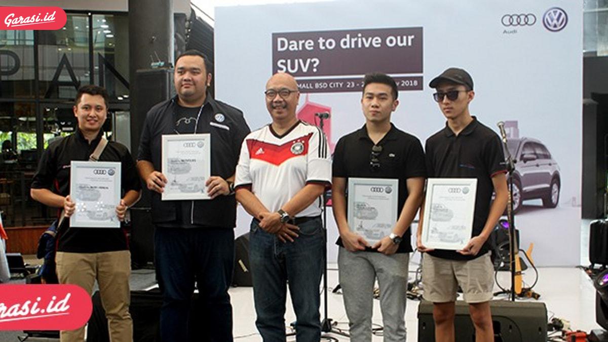 Acara Test Drive VW dan Audi Berakhir Seru