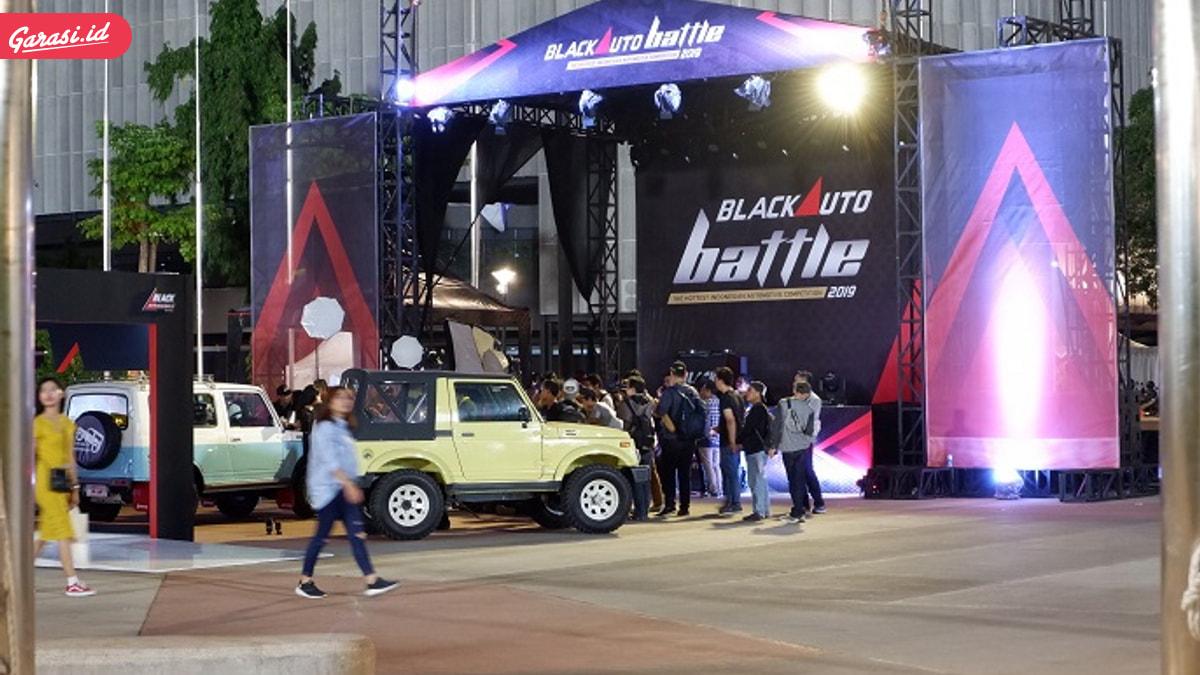 Jimny Unjuk 'Gigi' di Black Auto Battle 2019
