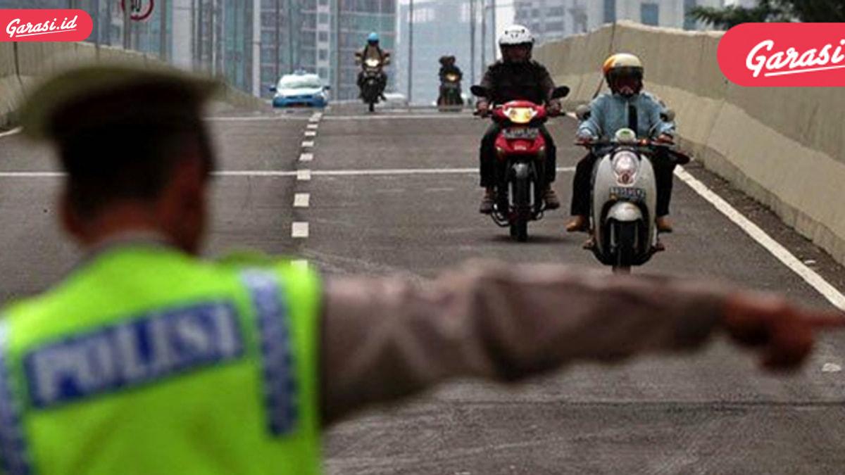 Sahabat Penunggak Pajak kendaraan? Awas Ditilang Polisi