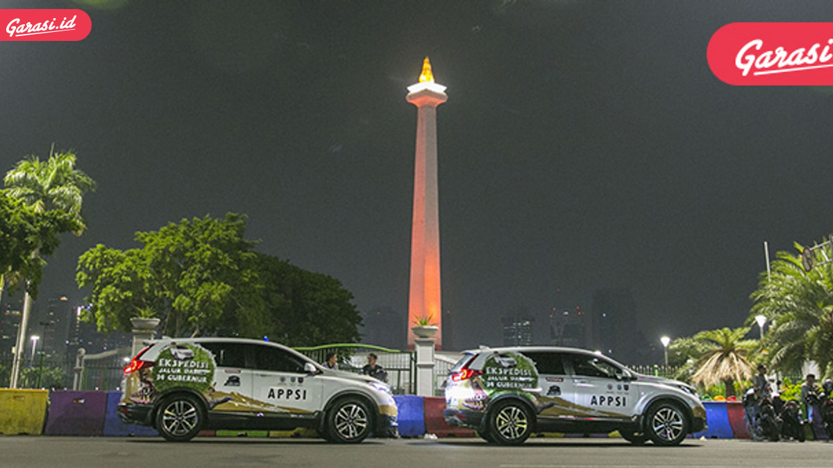 """Rombongan """"Jelajah Nusantara Bersama All New Honda CR-V Turbo"""" Mulai Susuri Pulau Jawa"""