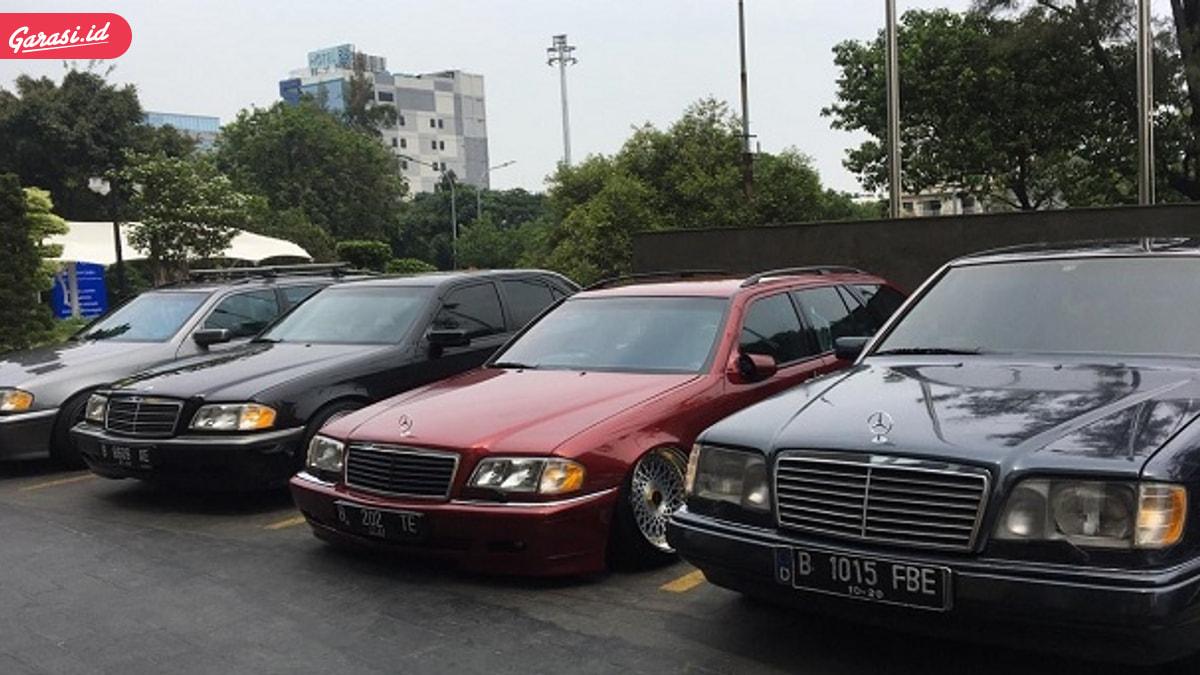 Komunitas Mercedes-Benz W202 Jakarta Bersiap Touring Sejauh 600 Kilometer