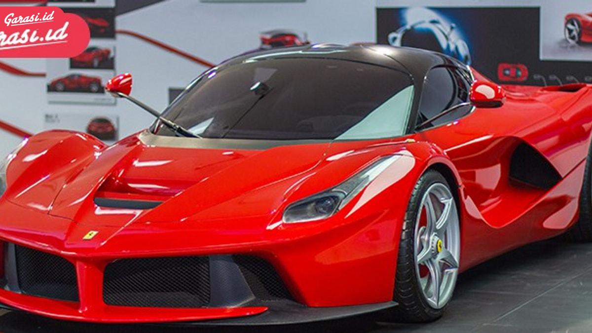Mesin Ferrari LaFerrari Dilelang Online, Harganya 5 Miliar