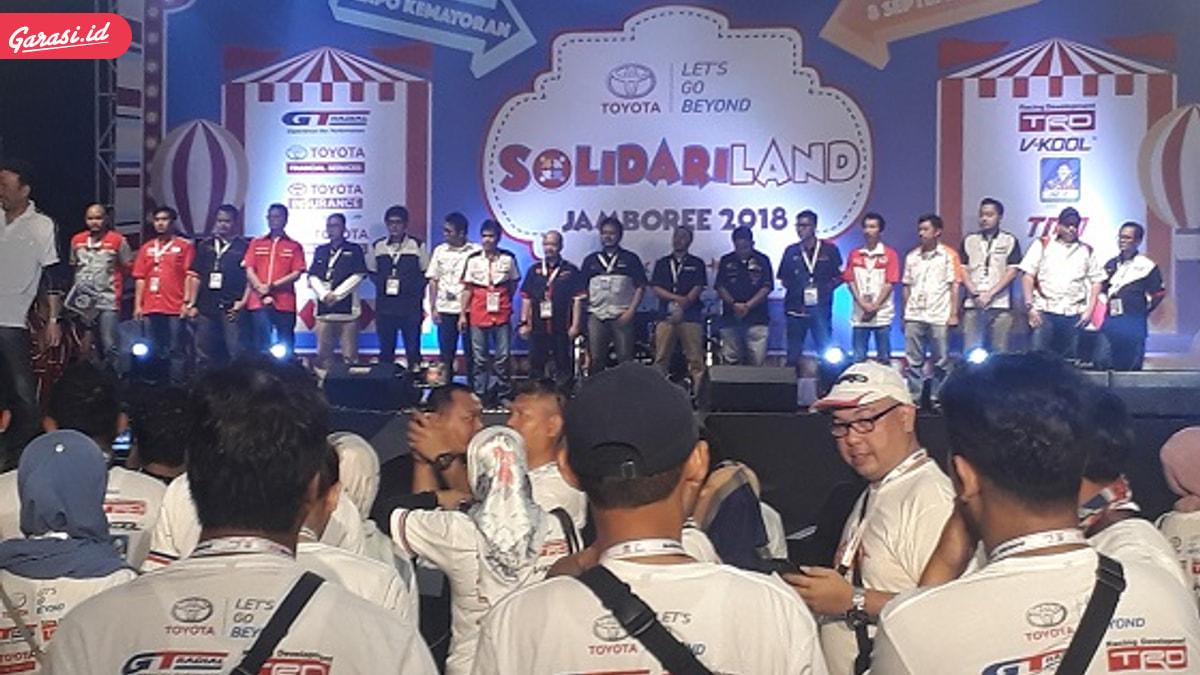 Komunitas TAC Turut Meriahkan Toyota Jambore 2018